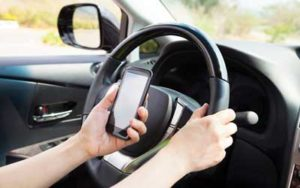 Distracted Driving Causing Auto Accidents