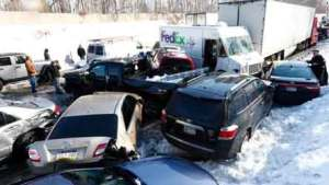 Snow and Ice Car Accidents