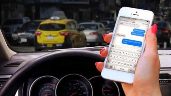 distracted driving car accidents