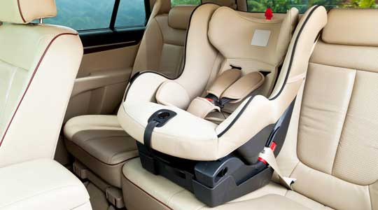 baby car seats and car accidents