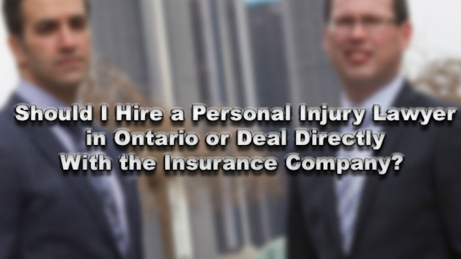 Should I Hire A Personal Injury Lawyer In Ontario Or Deal