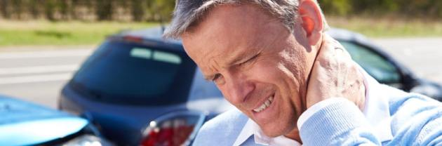 Neck pain from car accident
