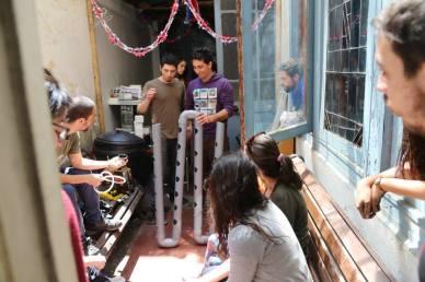 Taller Permacultura - Barrio Yungay