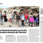 El Refugio Elorrieta de nuevo en el periódico Ideal de Granada