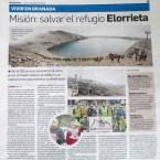 Misión: salvar el refugio Elorrieta