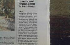 El refugio Elorrieta de Sierra Nevada, entre los peor conservados de España