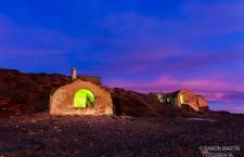 Fotos nocturnas del Refugio Elorrieta