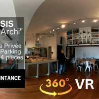 Vidéo 360 VR pour l'agent immobilier