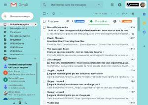 nouveau gmail 2018
