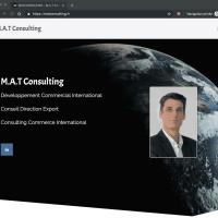 MATCONSULTING projet WordPress OnePage