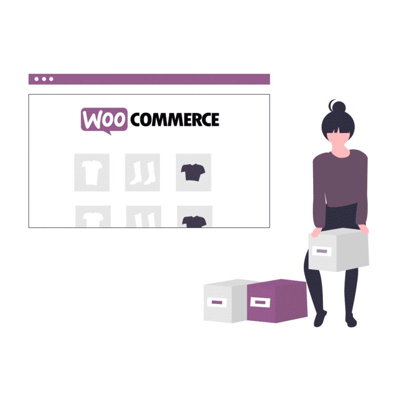 gestion de site woocommerce