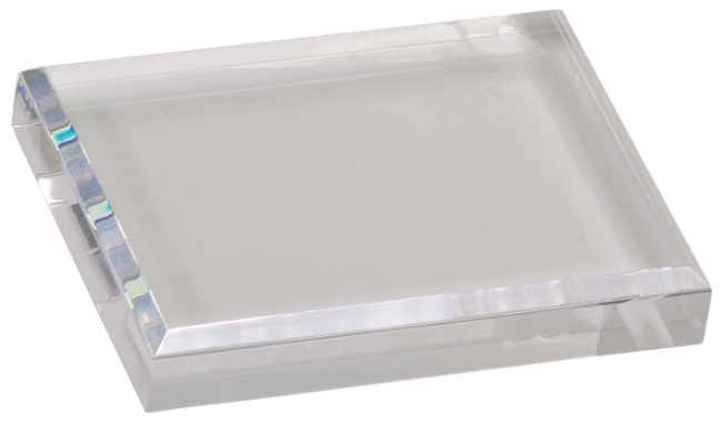 Acrylic Clear Paper Weight