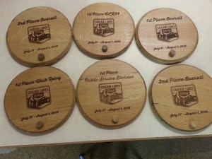 Wine Barrel Tops