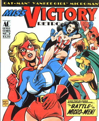 Retro Comics 2 : Miss Victory