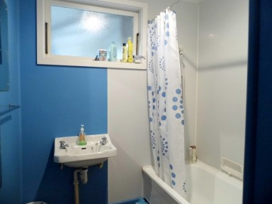 Shower over the bath
