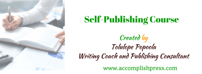 Self-Publishing Course