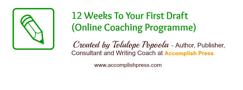 12 Weeks to First Draft Online Writing Course