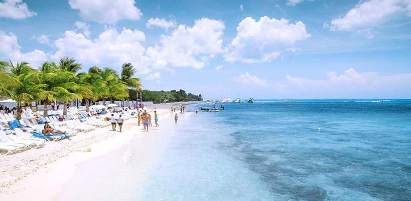 (Cozumel Map With Hotels)