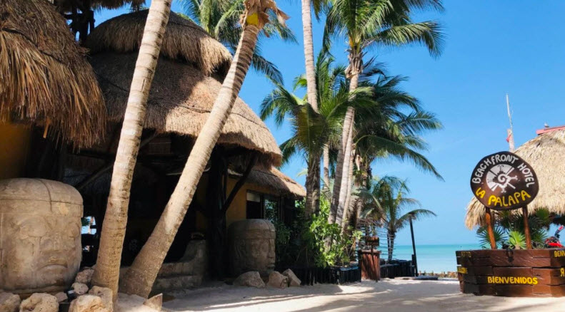 Beachfront Hotel La Palapa adult only in Cancun