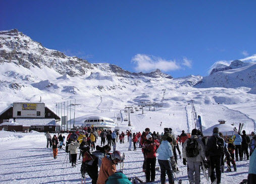 European-Skiing-italian-alps-skiing