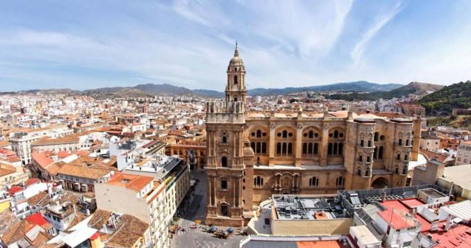 Málaga Cathedral in Spain