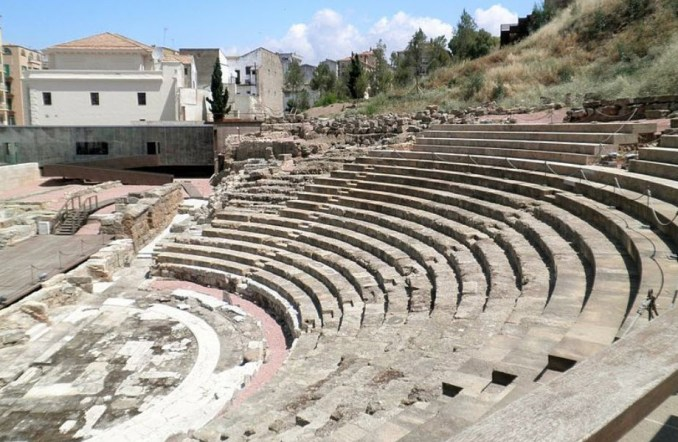 Things To Do In Spain Malaga - Roman Theathre