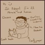 Comic 1 - I'm Abigail
