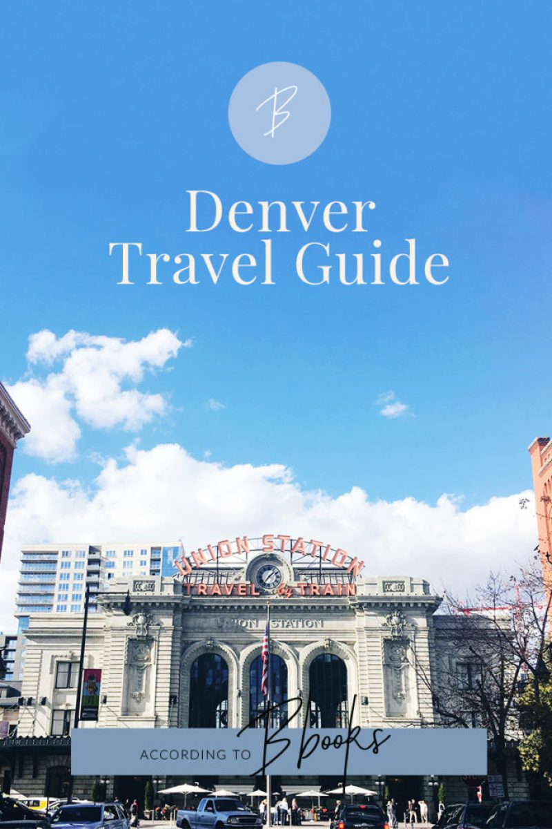 According To Bbooks | Went on my first trip as an adult to Denver and had so much fun eating my way through the city! Click to read my favorite restaurants and places to visit.