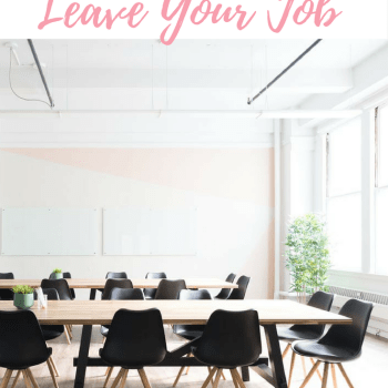 Know When It's Time to Leave Your Job