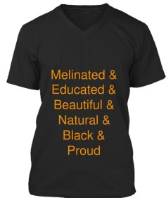 melinated and educated shirt
