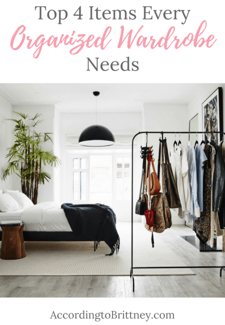 organized wardrobe needs