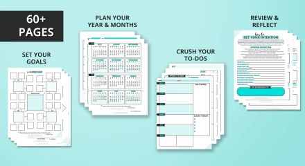 slay your goals planner black friday