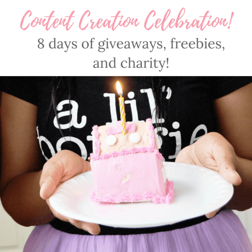 Content Creation Celebration