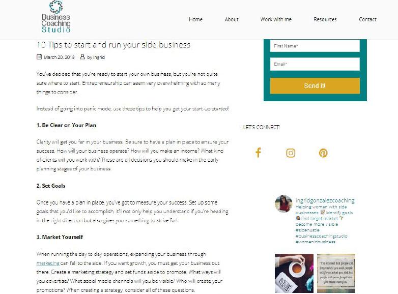 Content Services - Blog