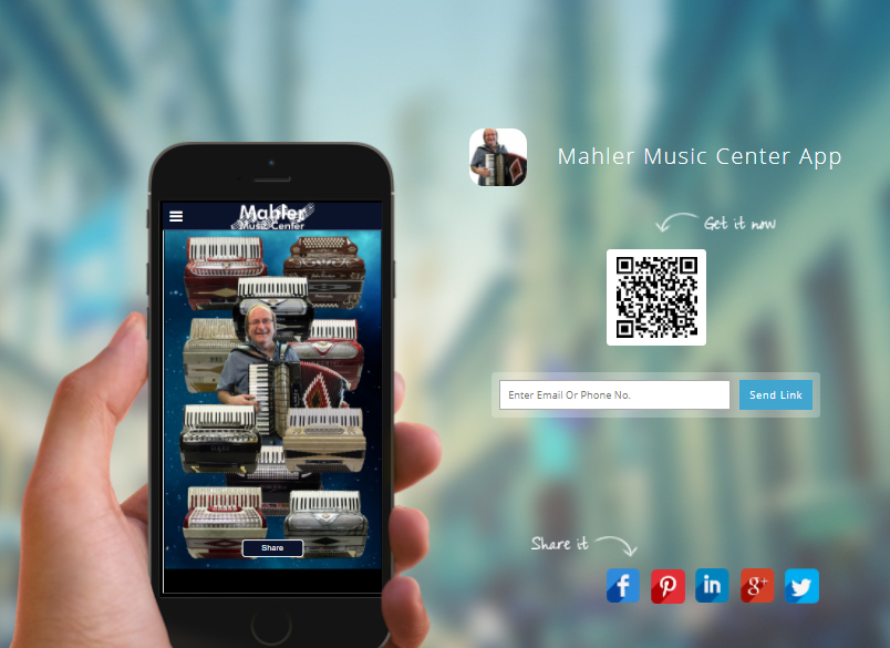 Mahler Music Center - Mobile App