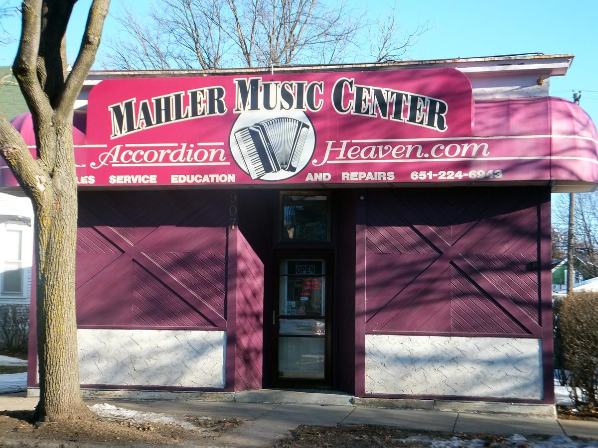 Mahler Music Center-Storefront