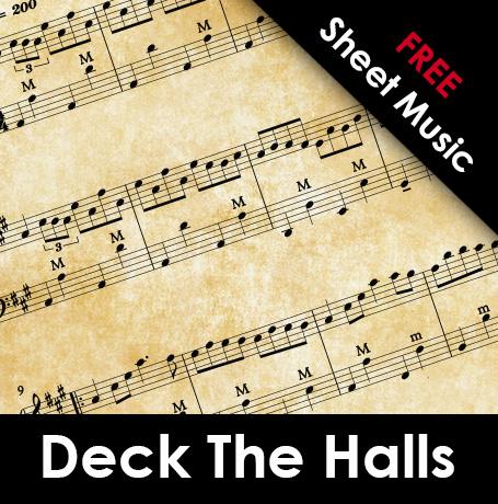 Accordion Free Sheet Music: Deck The Halls • AccordionLife com