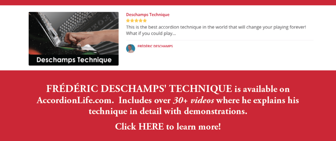 Click here to learn more about the Deschamps' Technique Course.
