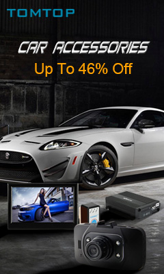 Thousands of Car Accessories@TOMTOP.com