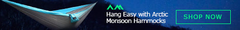 Arctic Monsoon Camping Hammock