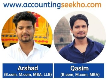 Arshad and Qasim Official by Accounting Seekho Authors