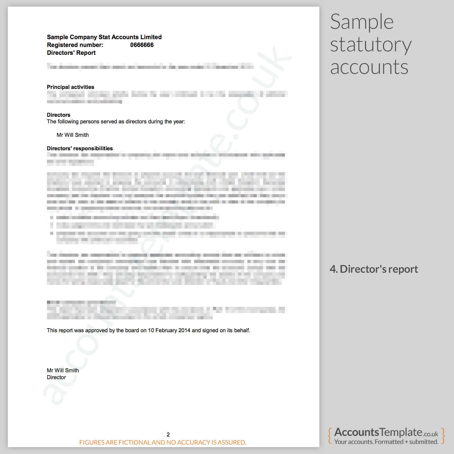 A Guide To The Statutory Accounts Format