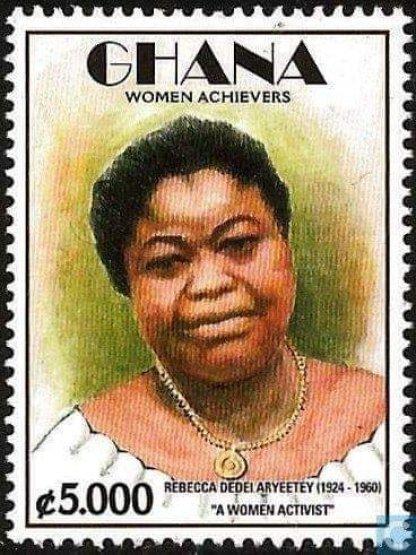 Rebecca Naa Dedei Aryeetey Photo Used for Ghana Post's Postal Stamp