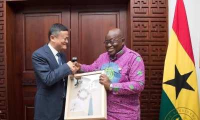 Jet Li Visit Akufo-Addo