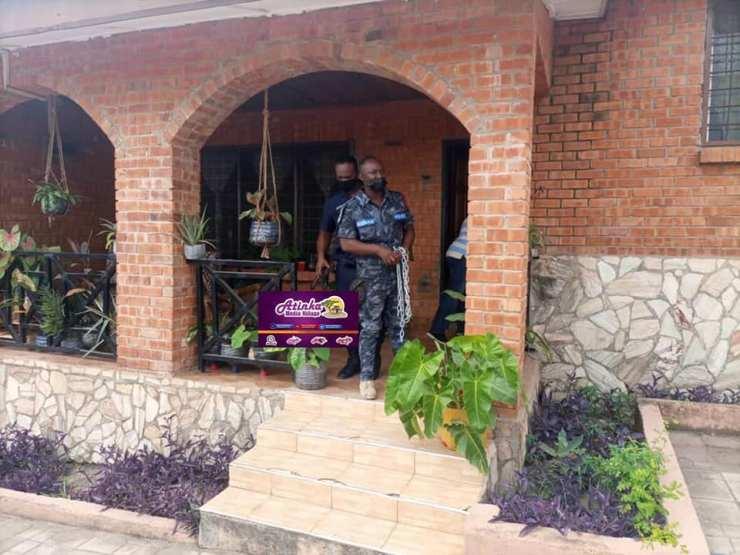 gay office in ghana