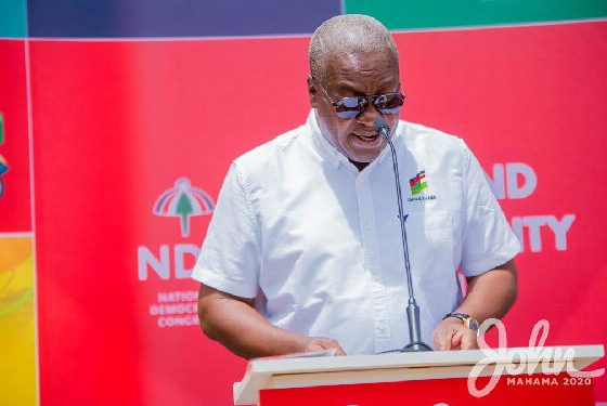 Keep your receipts because I'll audit COVID-19 Funds – Mahama
