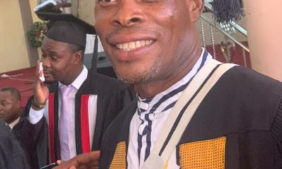 "Veteran Actor, ""Waakye"" Ordained As A Reverend Minister- PHOTOS"