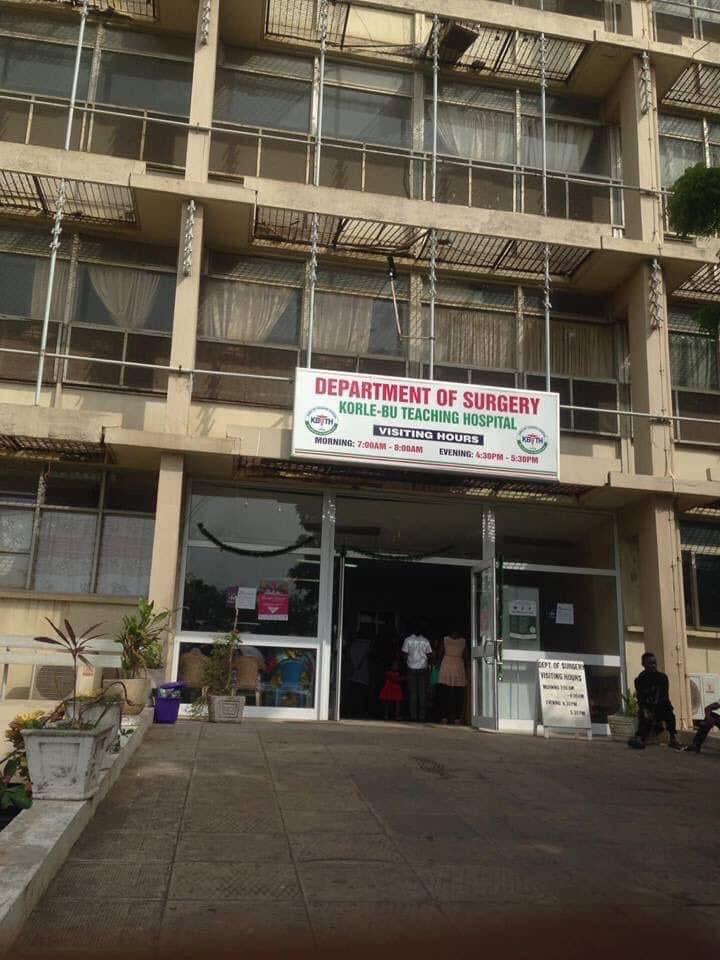 Surgical department at Korle-Bu