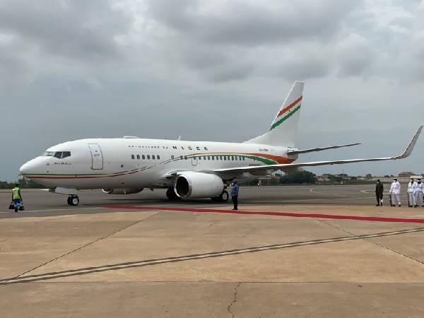 President of Niger's jet