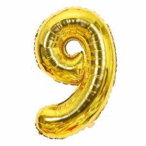 Ballon chiffre 9 ans